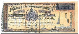 A Extraordinária Loteria para o Monumento do Ypiranga de 1880