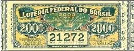 A Loteria Federal do Brasil no ano de 1934