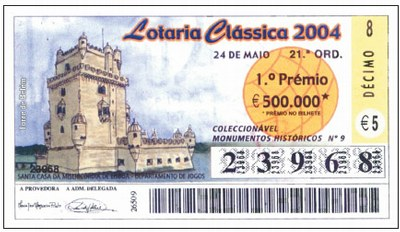 A Loteria Nacional de Portugal