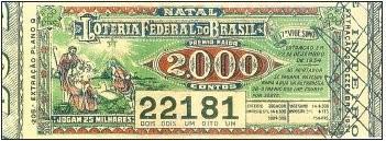 Loteria de Natal - 1934