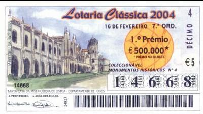 Loteria Clássica de 2004