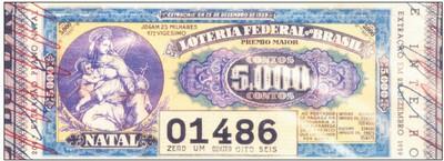 A Loteria Federal do Brasil em 1939