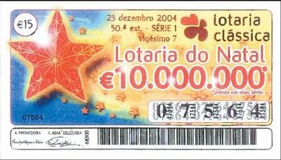 """""""Loteria Clássica – Loteria de Natal de Portugal"""""""