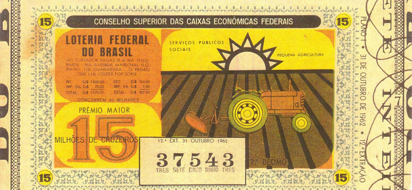 Extração 0012 - Serviços Públicos Sociais - Pequena Agricultura