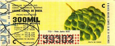 Extração 0772 - Fruta de Conde