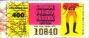 Extração 19701025 - Sweepstake - Grande Prêmio do Paraná - Jockey Club do Paraná