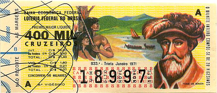 Extração 0833 -  Tomé de Souza.