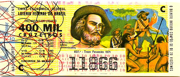 Extração 0837 -  Bartolomeu Bueno (Anhanguera).