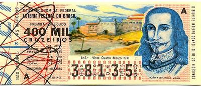 Extração 0847 -  João Fernandes Vieira.