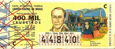 Extração 0855 -  Irineu Evangelista de Souza.