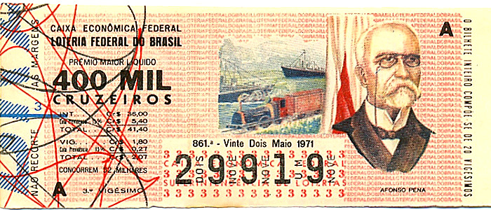 Extração 0861 -  Afonso Pena.