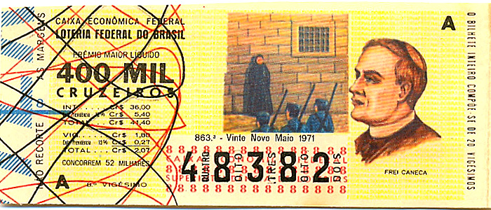 Extração 0863 -  Frei Caneca.