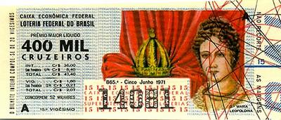 Extração 0865 -  Dª Maria Leopoldina.