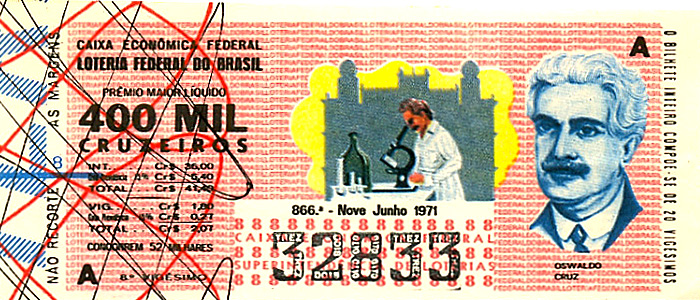 Extração 0866 -  Oswaldo Cruz.
