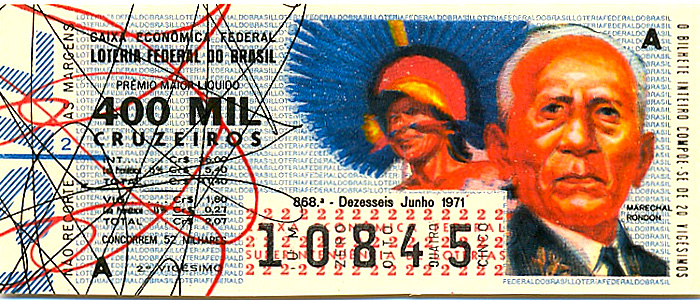 Extração 0868 -  Marechal Rondon.