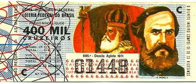 Extração 0885 -  D. Pedro II.
