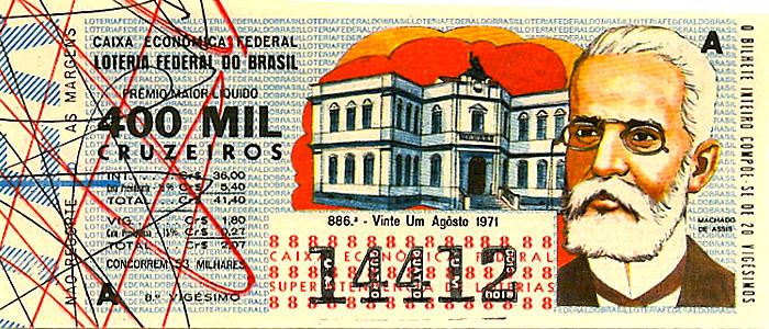 Extração 0886 -  Machado de Assis.