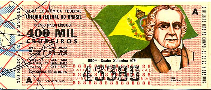 Extração 0890 -  José Bonifácio.