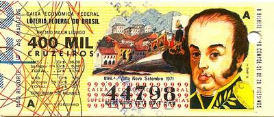 Extração 0896 -  D. João VI.