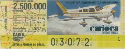 Extração 1576 - Indústria Aeronática Brasileira - Carioca - BEM 710C