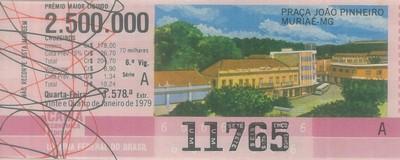 Extração 1578 - Praça João Pinheiro - Muriaé - MG