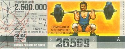 Extração 1579 - Homenagem aos Esportes - Halterofilismo