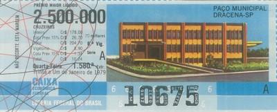 Extração 1580 - Paço Municipal - Dracena - SP