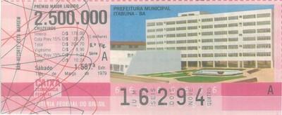 Extração 1587 - Prefeitura Municipal - Itabuna - BA