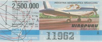 Extração 1590 - Indústria Aeronática Brasileira - Uirapuru - EMB A-122