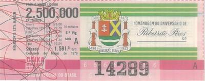 Extração 1591 - Homenagem ao Aniversário de Ribeirão Pires - SP