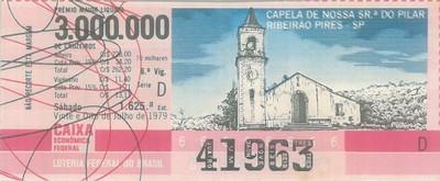Extração 1625 - Capela Nossa Senhora do Pilar - Ribeirão Pires - SP