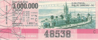 Extração 1633 - Ilha Fiscal - Rio de Janeiro - RJ