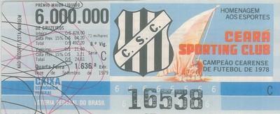 Extração 1636 - Homenagem aos Esportes - Ceará Esporte Clube