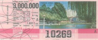 Extração 1637 - Parque Jonas Ramos - Lages - SC