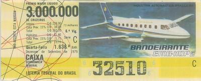 Extração 1638 - Indústria Aeronática Brasileira - Bandeirante - EMB-110P2