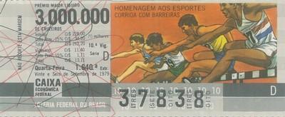 Extração 1640 - Homenagem aos Esportes - Corrida com Barreiras