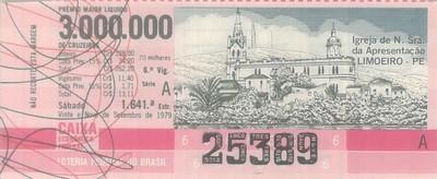 Extração 1641 - Igreja Nossa Senhora Da Apresentação - Limoeiro - PE