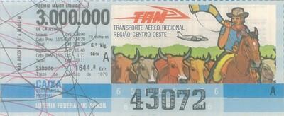 Extração 1644 - Transporte Aéreo Regional - Região Centro-Oeste