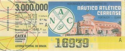 Extração 1645 - Homenagem ao Cinquentenário do Náutico Atlético Cearense - Fortaleza - CE