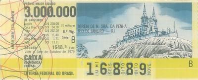 Extração 1648 - Igreja Nossa Senhora da Penha - Rio de Janeiro - RJ