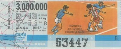 Extração 1649 - Homenagem aos Esportes - Futebol de Salão
