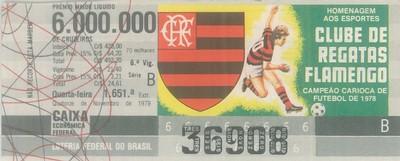 Extração 1651 - Homenagem aos Esportes - Clube de Regatas Flamengo